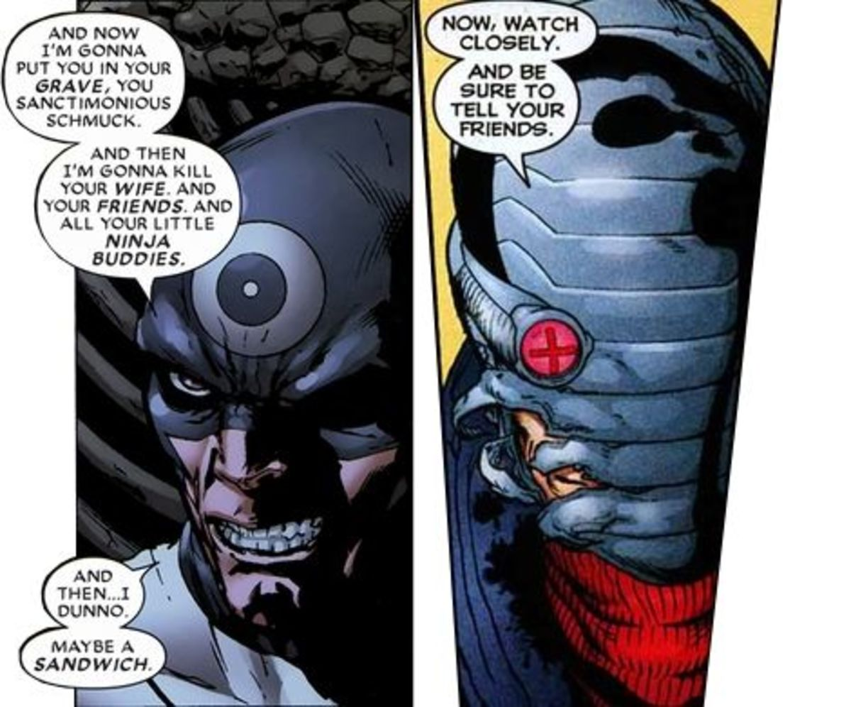 Prepare For Battle: Bullseye vs. Deadshot