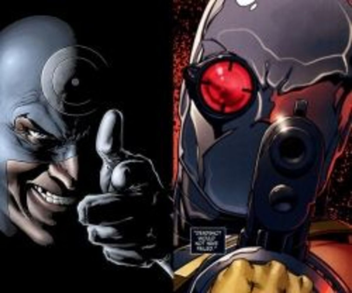 Bullseye vs. Deadshot