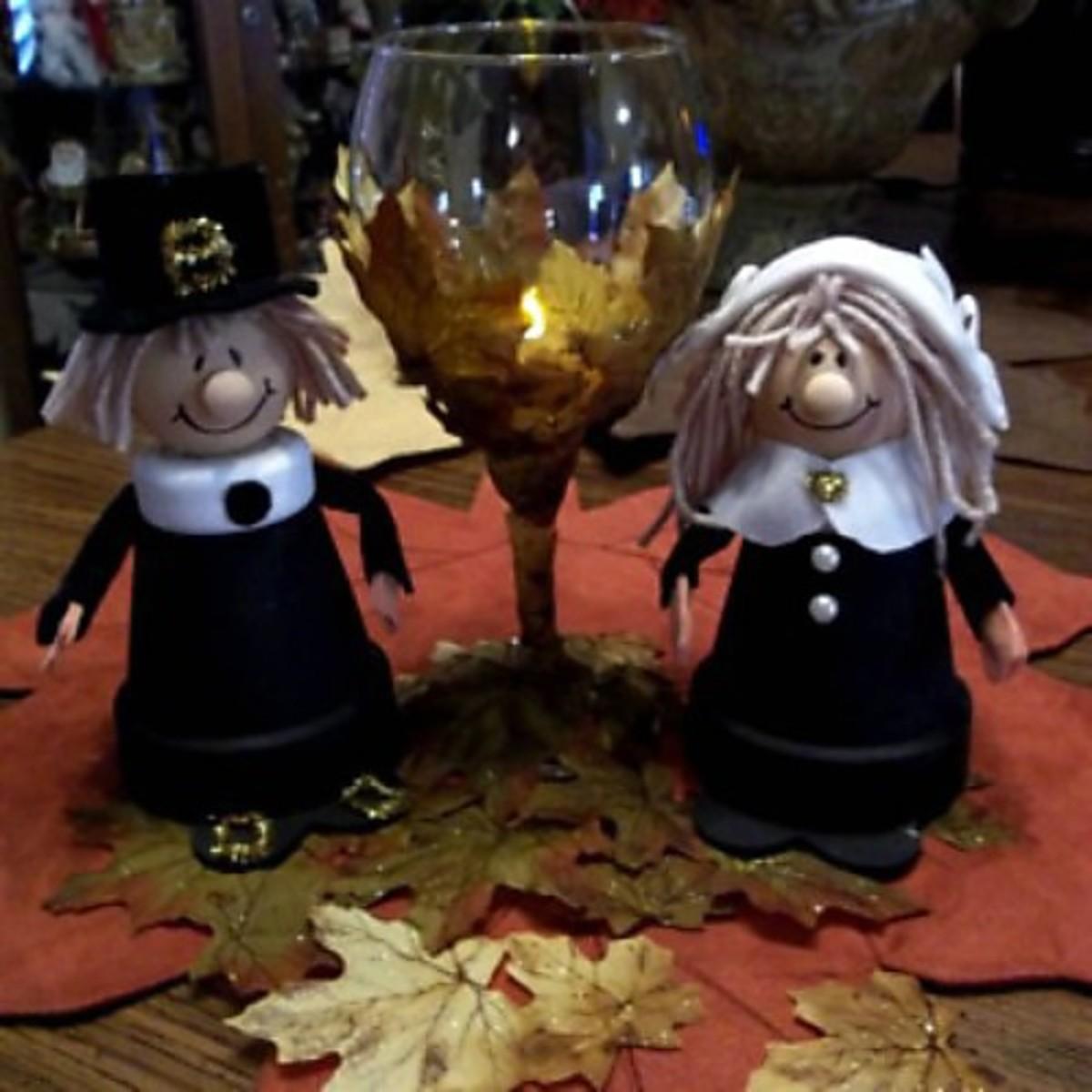 pilgrim-couple-centerpiece