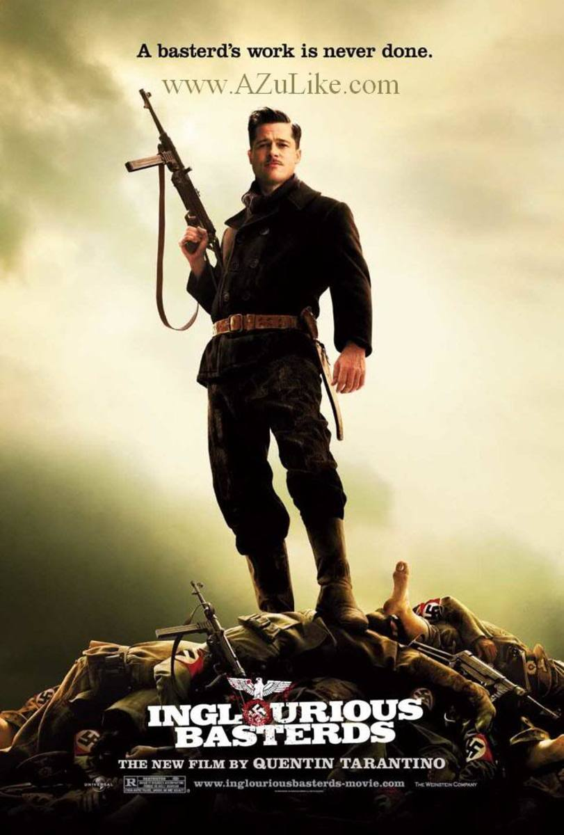 Inglorious Basterds---Rod played Winston Churchill