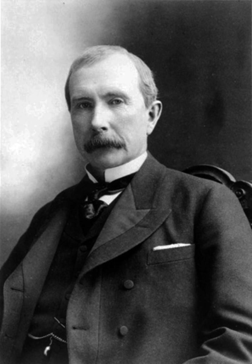 John D. Rockefeller in 1885