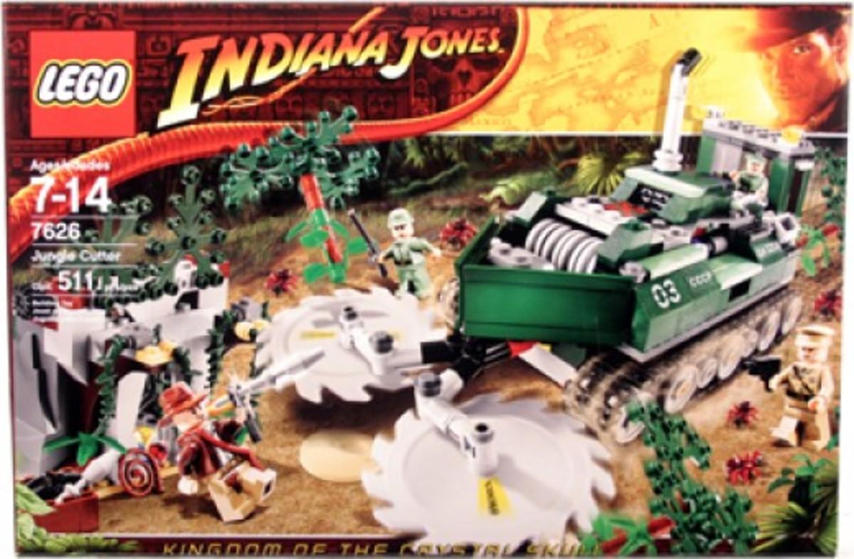 Lego Indiana Jones Jungle Cutter 7626 Box