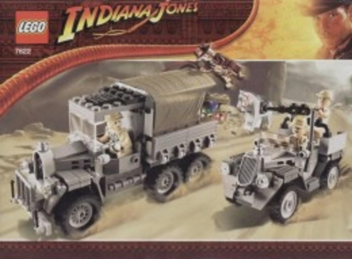 Lego Indiana Jones Race For The Stolen Treasure 7622 Box