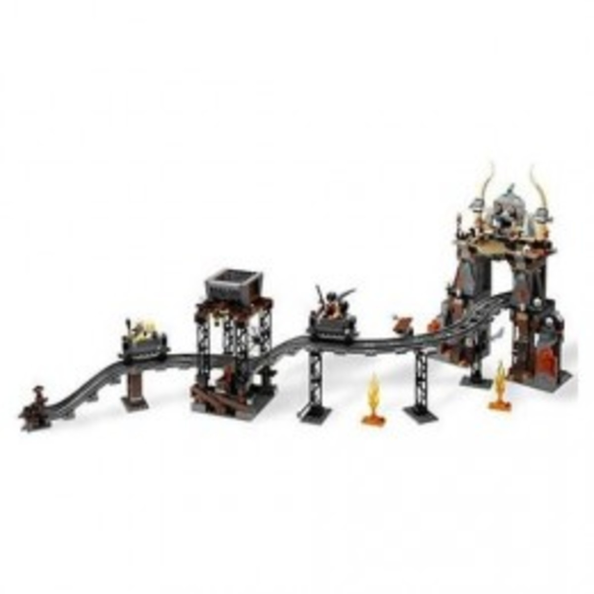 Lego Indiana Jones The Temple of Doom 7199 Assembled