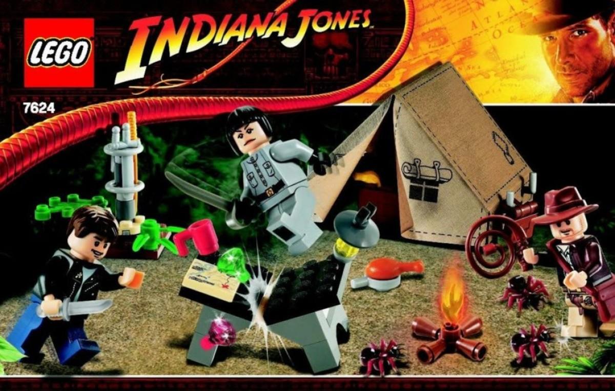 Lego Indiana Jones Jungle Duel 7624 Box