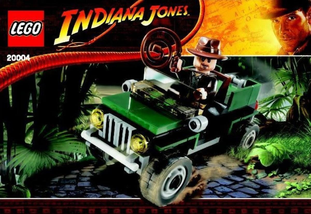 Lego Indiana Jones Jungle Cruiser 20004 Brickmaster Package