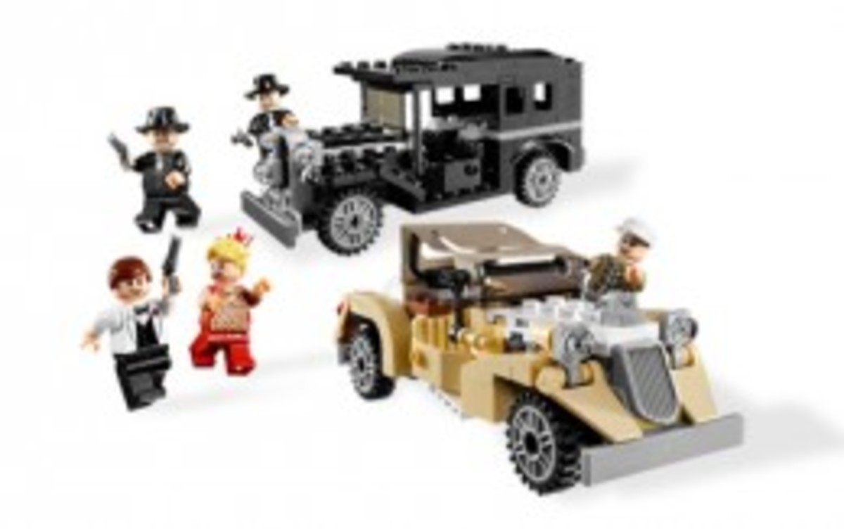 Lego Indiana Jones Shanghai Chase 7682 Assembled