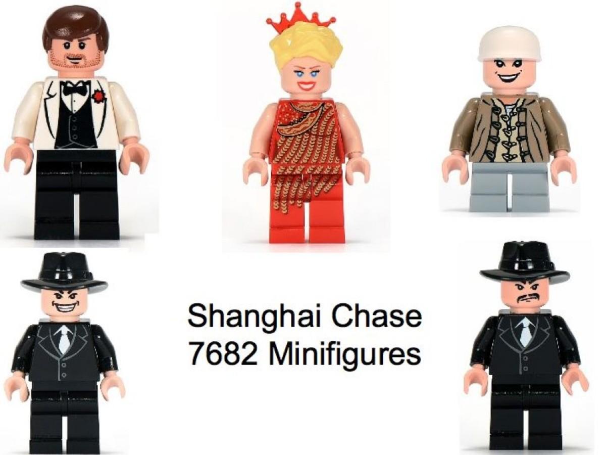 Lego Indiana Jones Shanghai Chase 7682 Minifigures