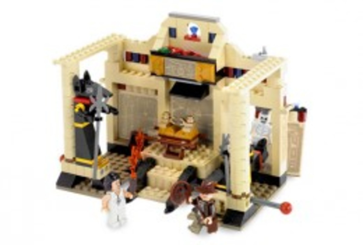 Lego Indiana Jones The Lost Tomb 7621 Assembled