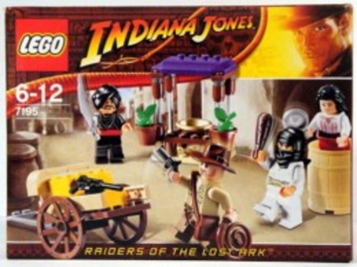 Lego Indiana Jones Ambush In Cairo 7195 Box