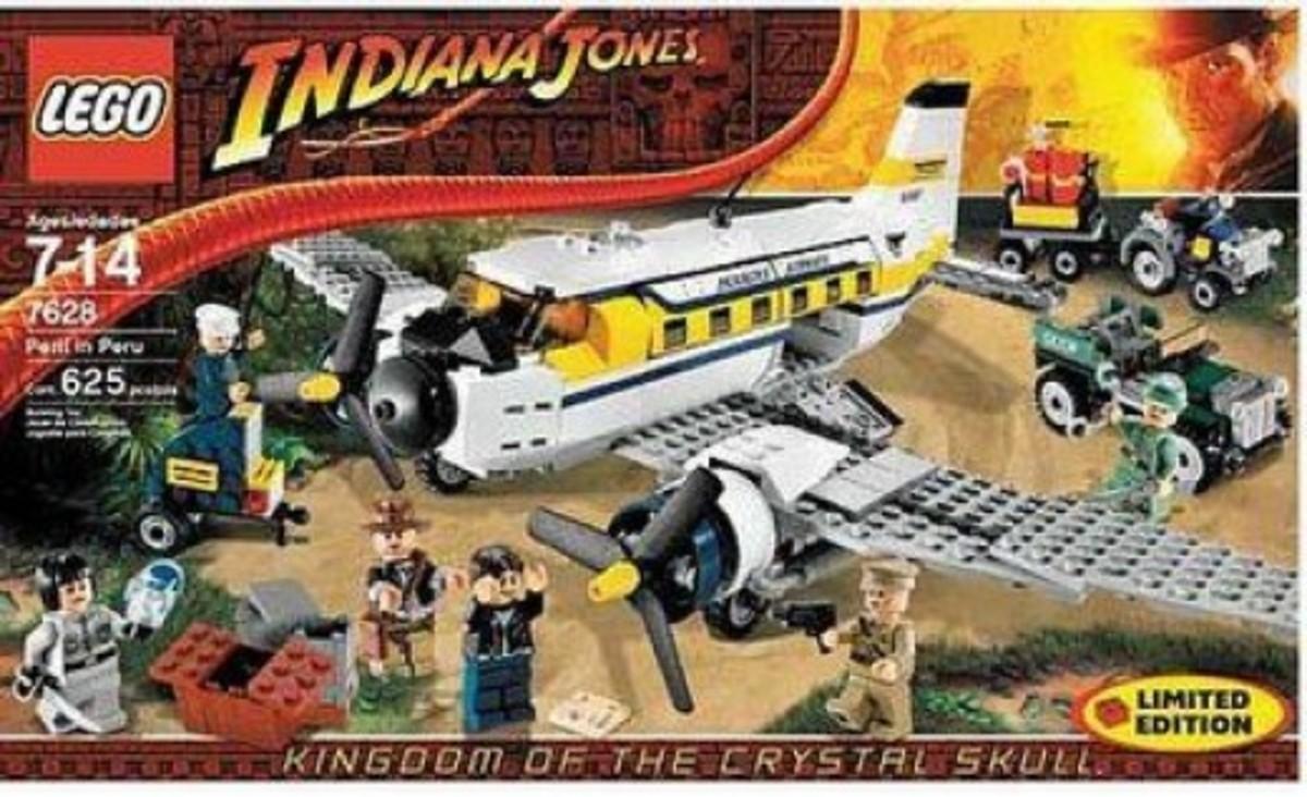 Lego Indiana Jones Peril in Peru 7628 Box