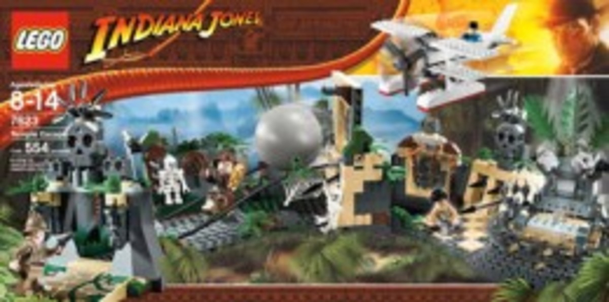 Lego Indiana Jones Temple Escape 7623 Box