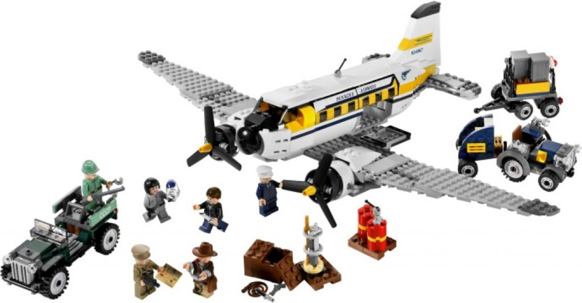 Lego Indiana Jones Peril in Peru 7628 Assembled