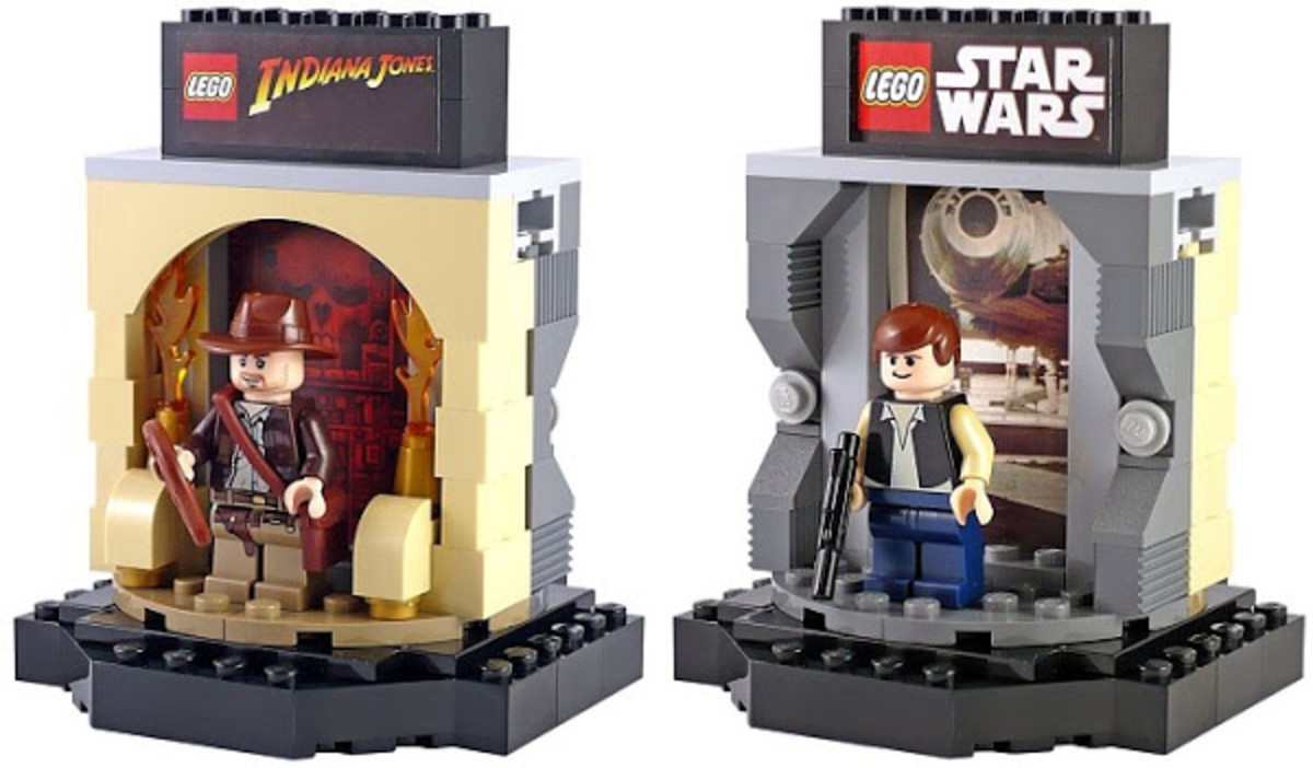 Han Solo / Indiana Jones Transformation Chamber Promosw005