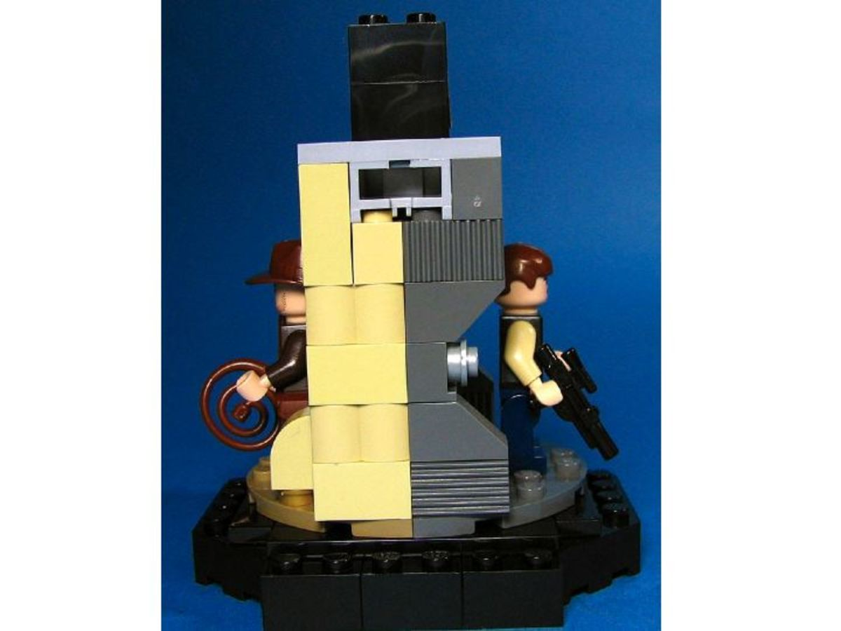 Han Solo / Indiana Jones Transformation Chamber Promosw005 Side View