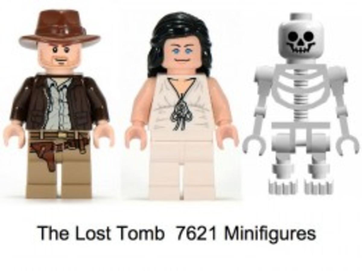 Lego Indiana Jones The Lost Tomb 7621 Minifigures