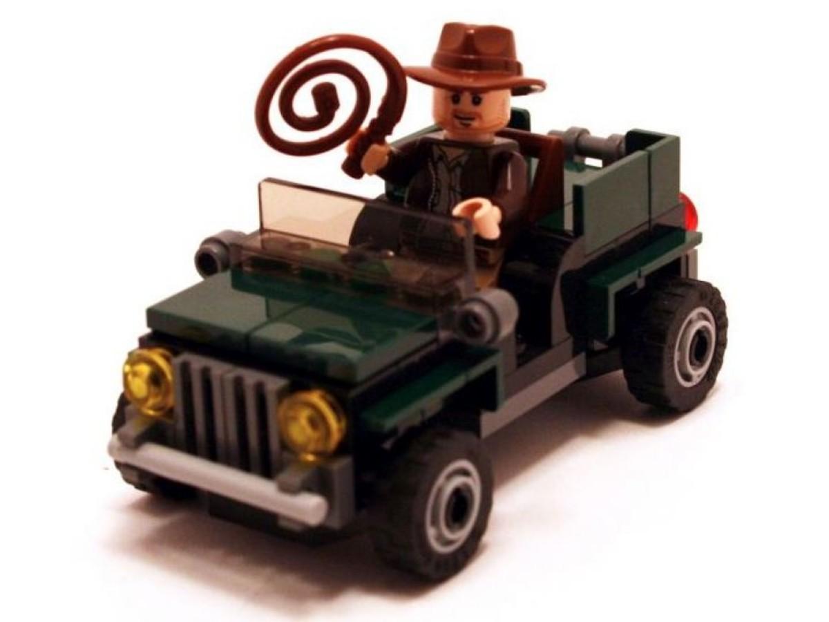 Lego Indiana Jones Jungle Cruiser 20004 Brickmaster Assembled