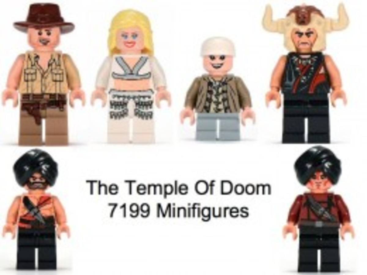 Lego Indiana Jones The Temple of Doom 7199 Minifigures