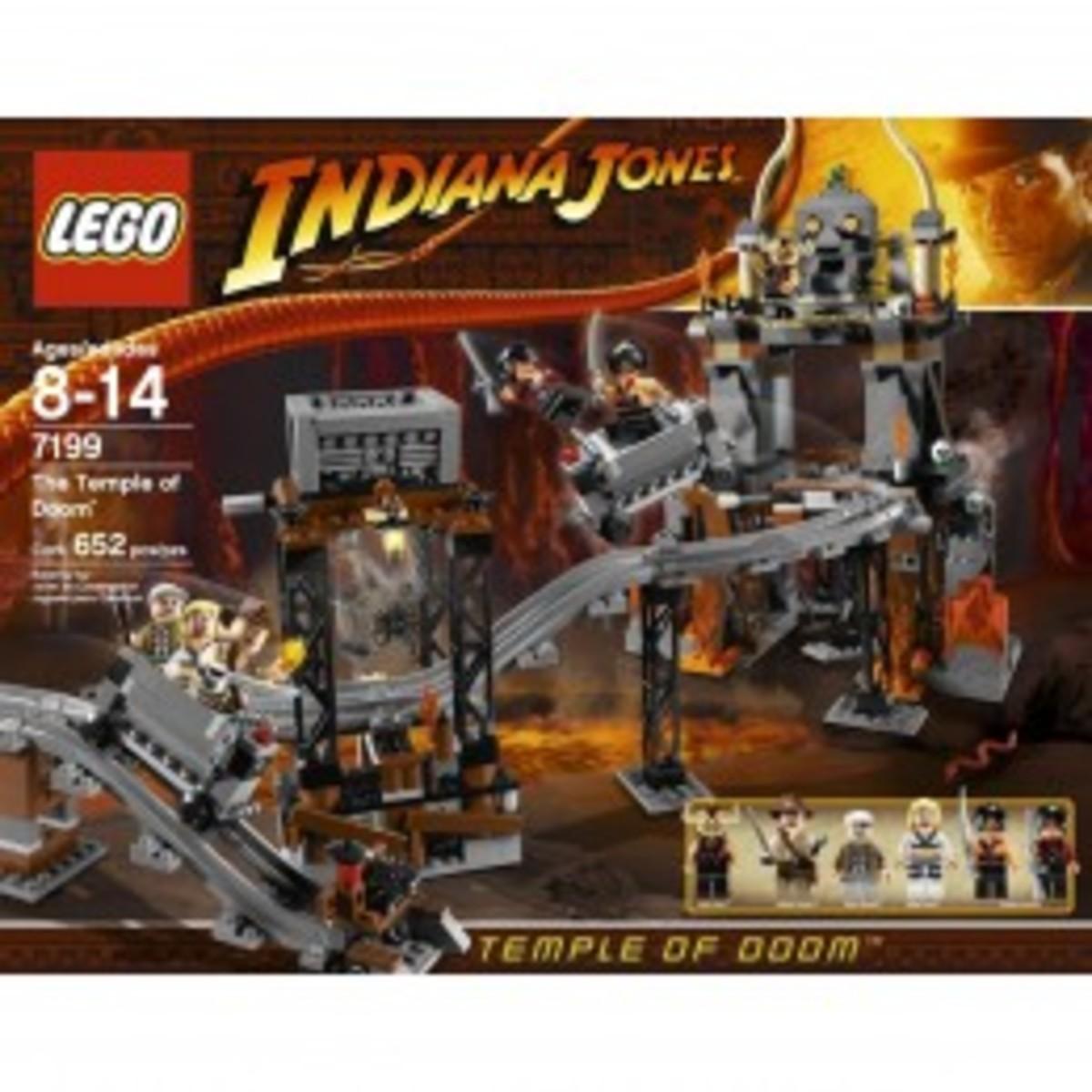 Lego Indiana Jones The Temple of Doom 7199 Box