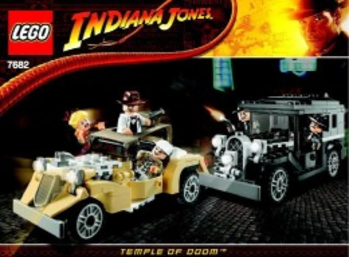 Lego Indiana Jones Shanghai Chase 7682 Box