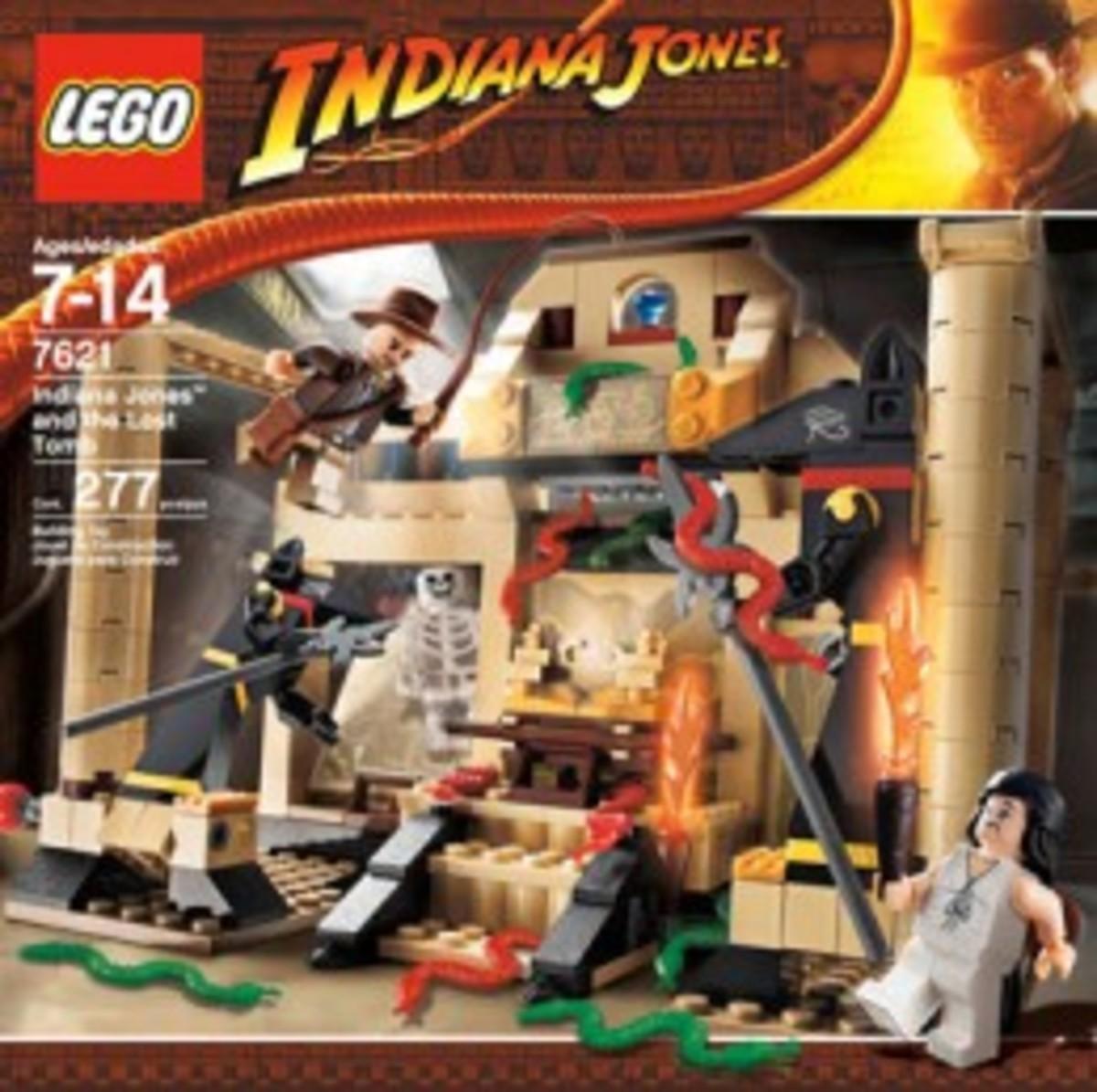 Lego Indiana Jones The Lost Tomb 7621 Box