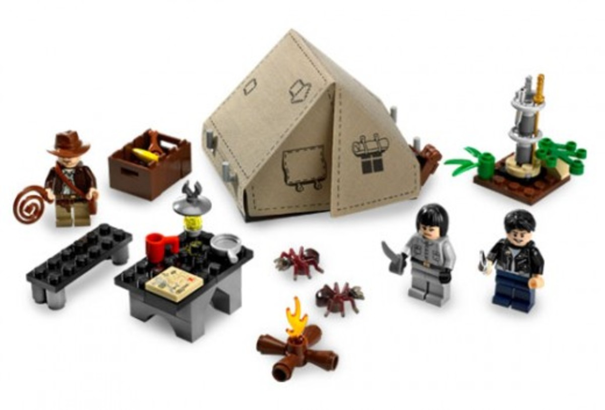 Lego Indiana Jones Jungle Duel 7624 Assembled
