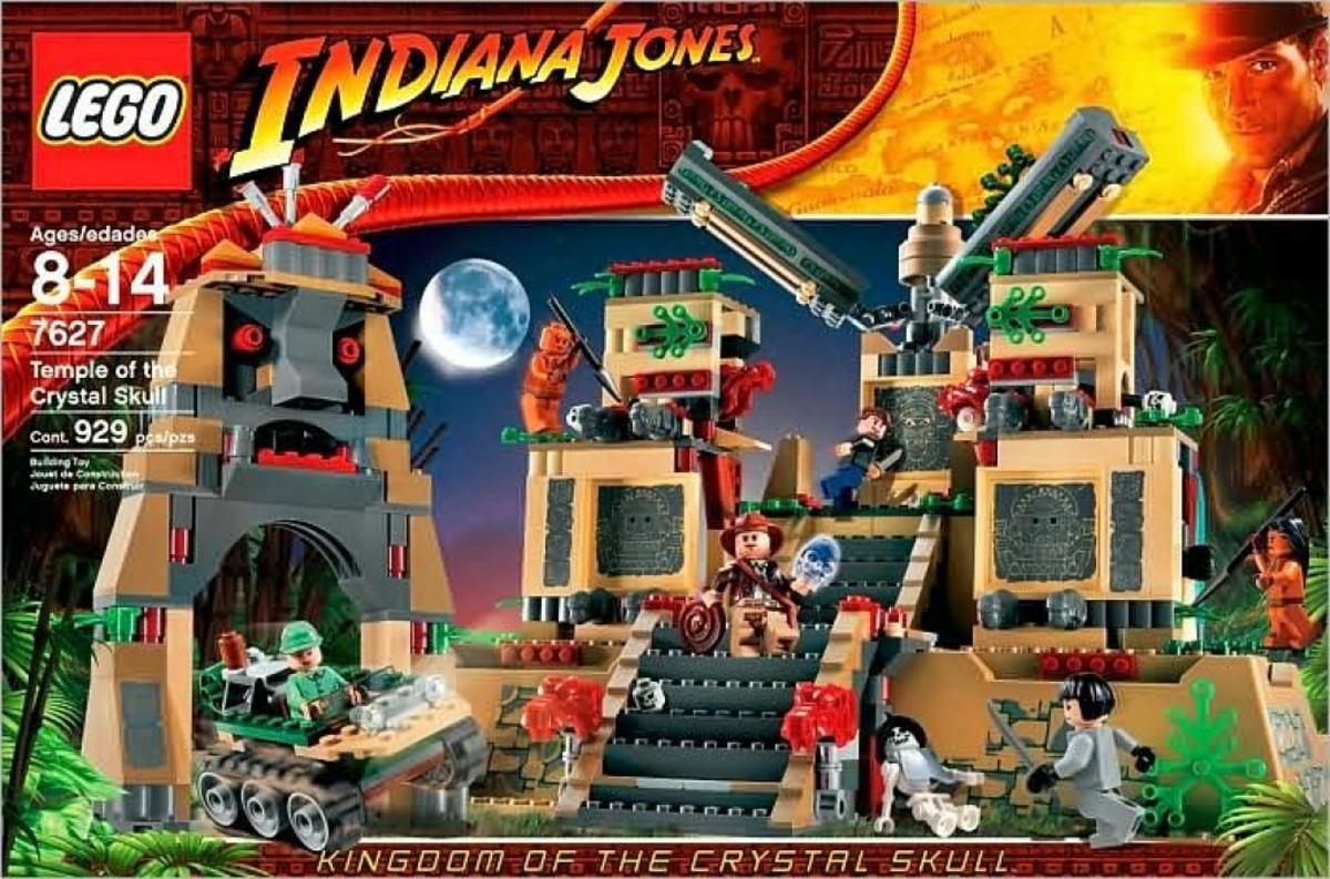Lego Indiana Jones Temple of the Crystal Skull 7627 Box