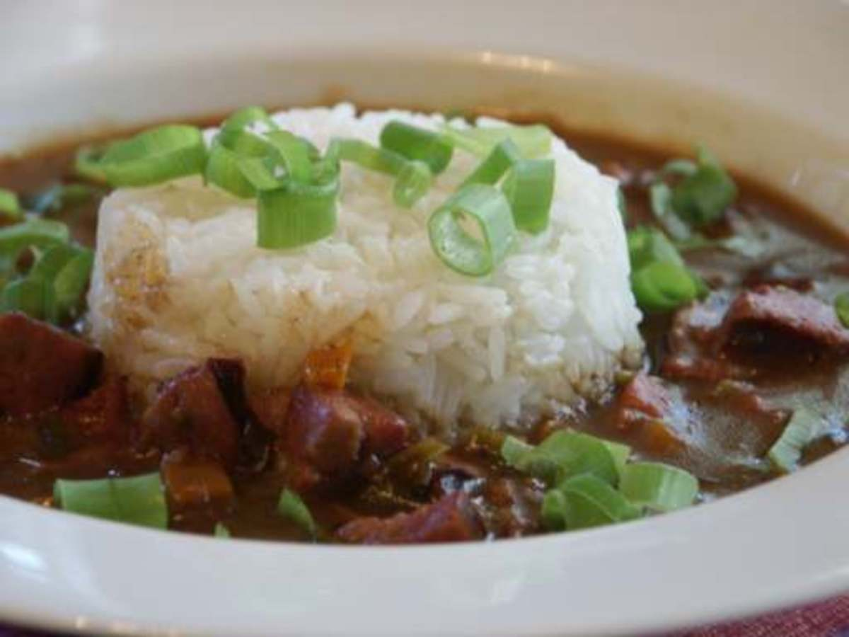 Using a Zatarain gumbo soup base this gumbo turned out to be a very great tasting dish.