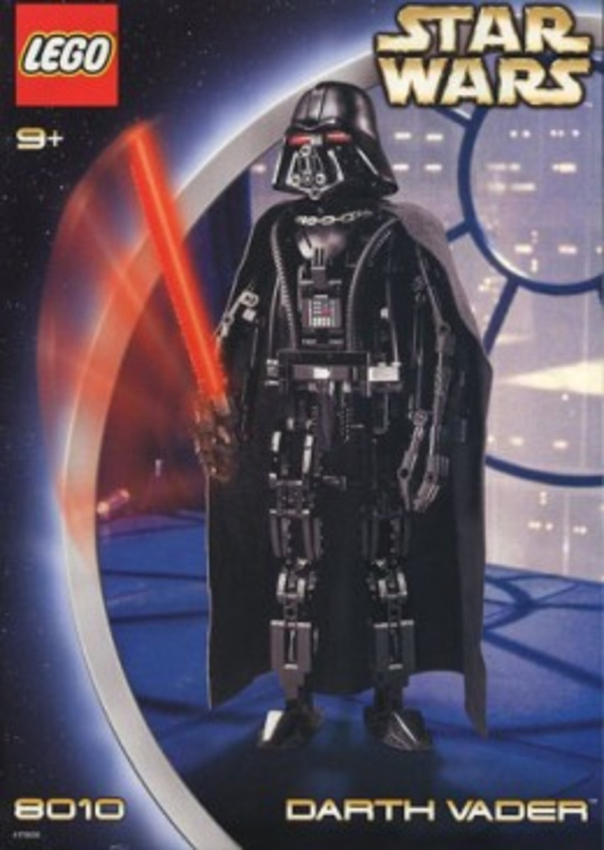 Lego Star Wars Darth Vader 8010 Box