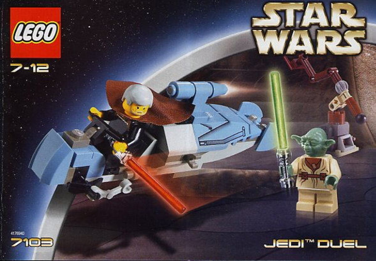 LEGO Star Wars Jedi Duel 7103 Box