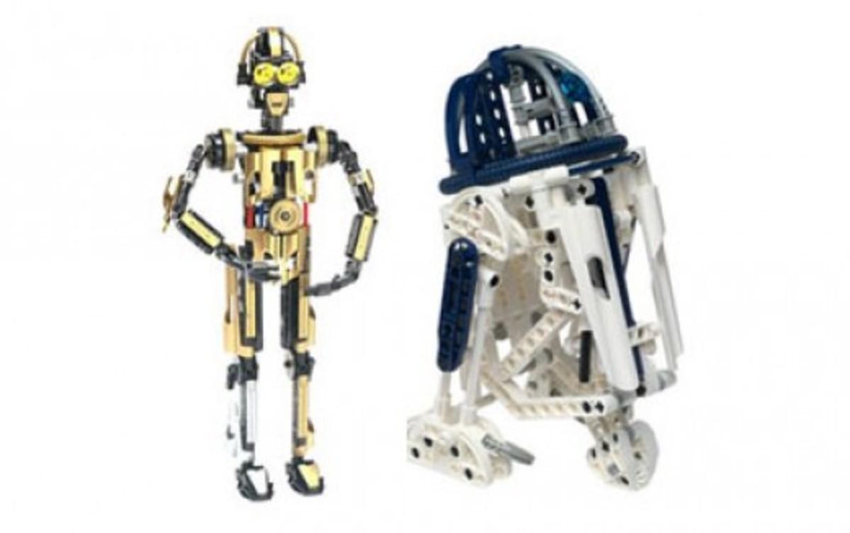 Lego Star Wars R2-D2 C-3PO Droid 65081 Assembled