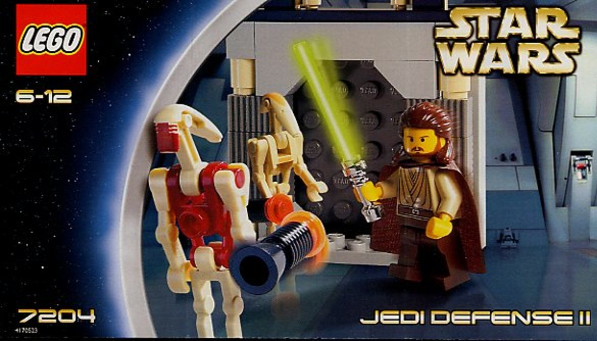 LEGO Star Wars Jedi Defense 2 7204 Box