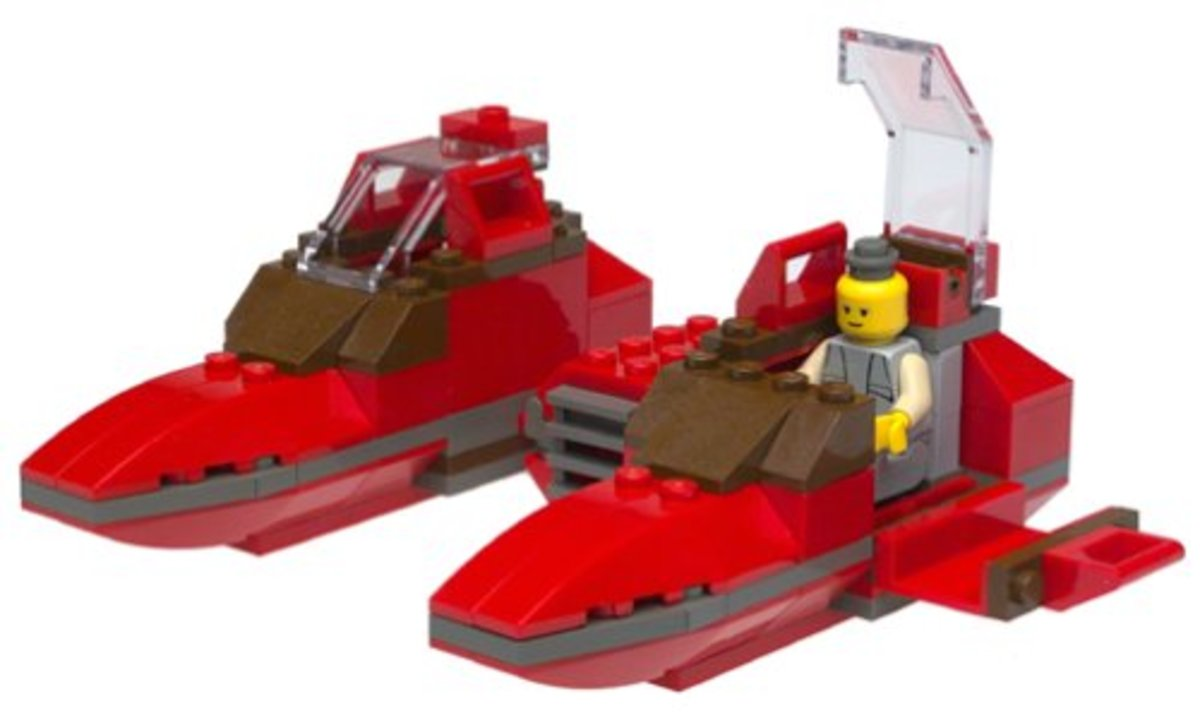 LEGO Star Wars Twin-Pod Cloud Car 7119 Assembled
