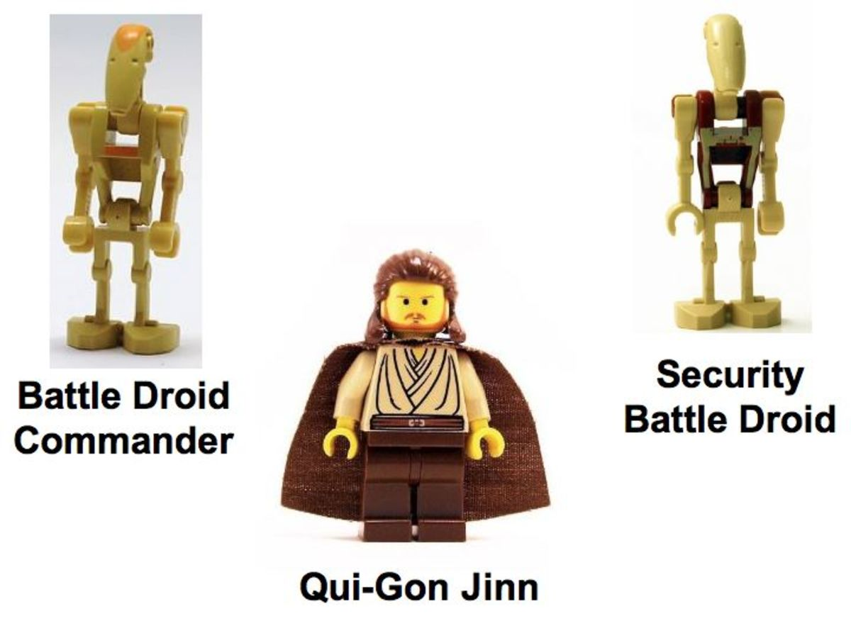 LEGO Star Wars Jedi Defense 2 7204 Minifigures