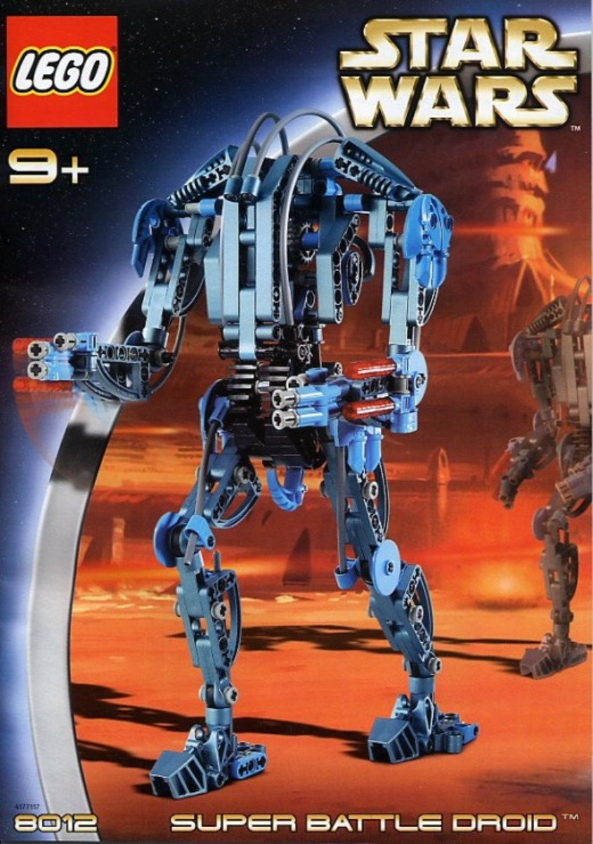 Lego Star Wars Super Battle Droid 8012 Box