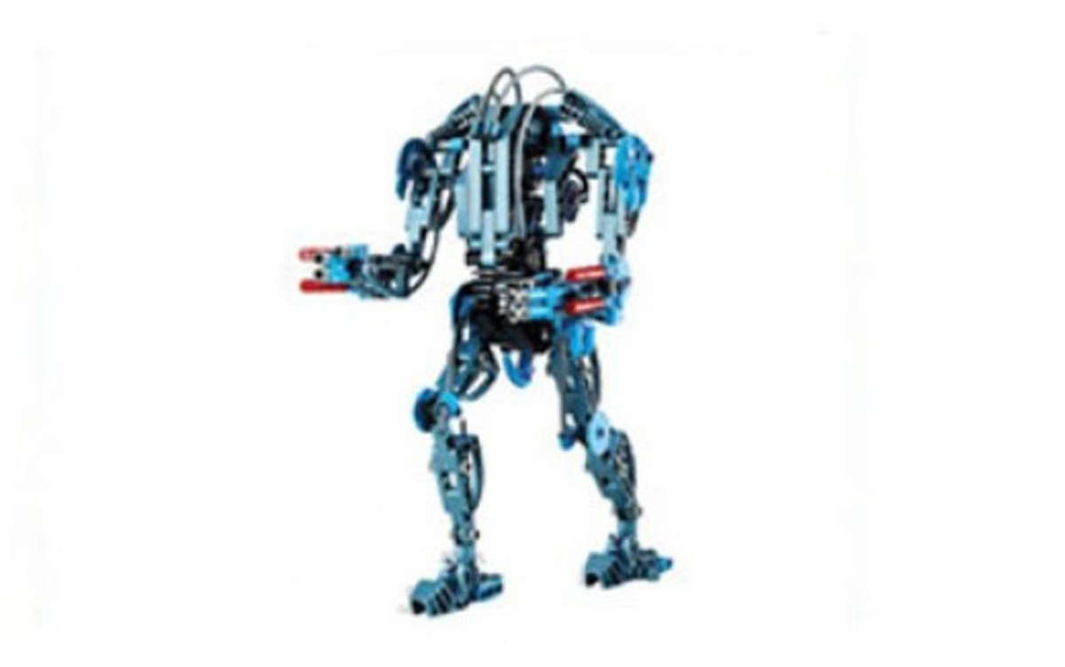Lego Star Wars Super Battle Droid 8012 Assembled