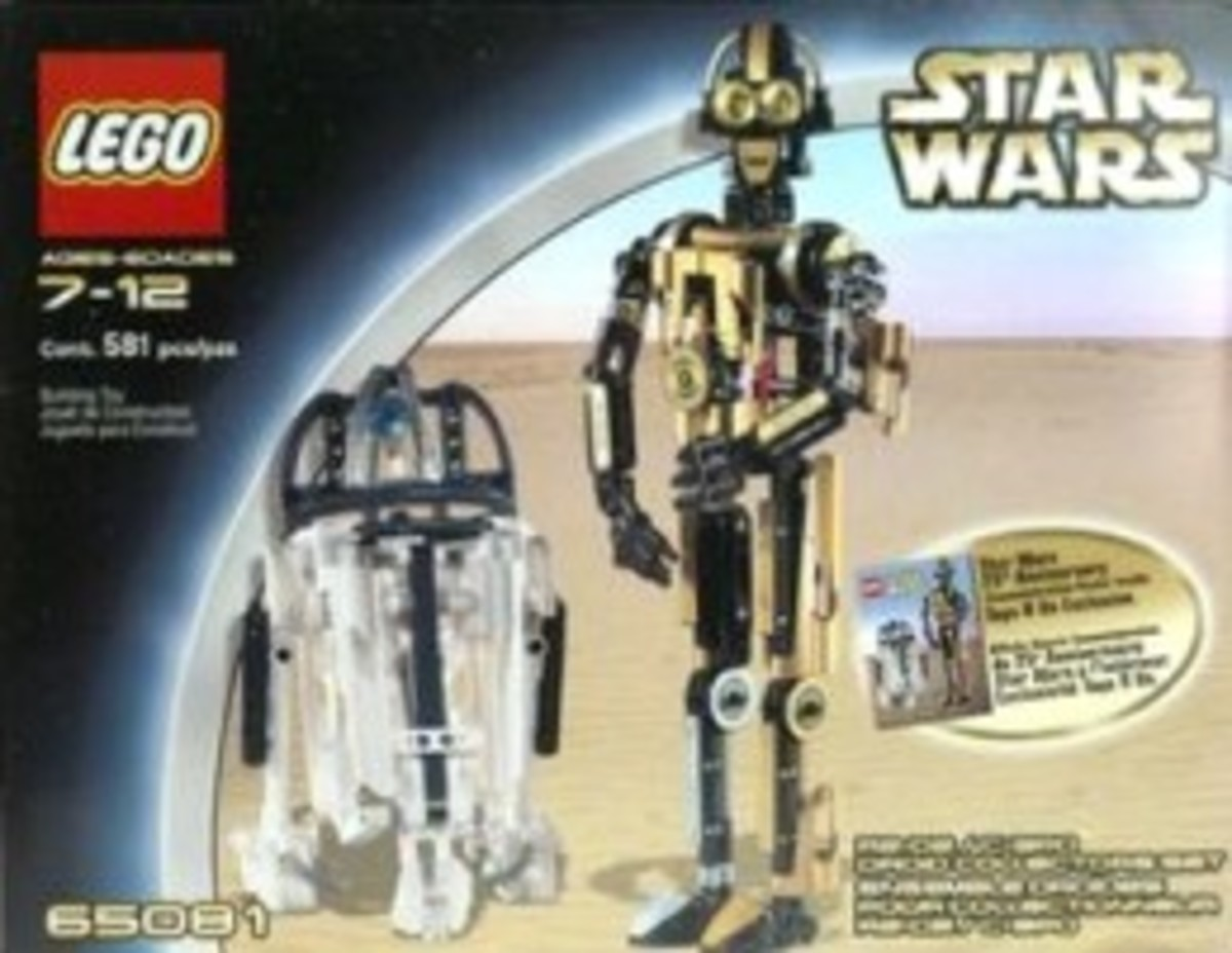 Lego Star Wars R2-D2 C-3PO Droid 65081 Box