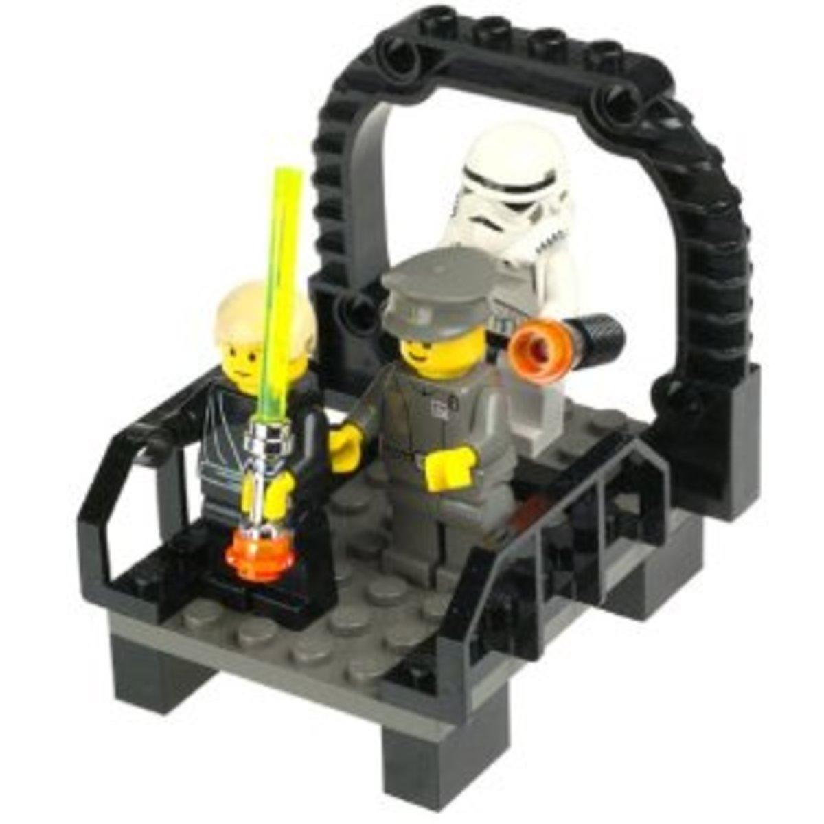 LEGO Star Wars Final Duel 2 7201 Assembled