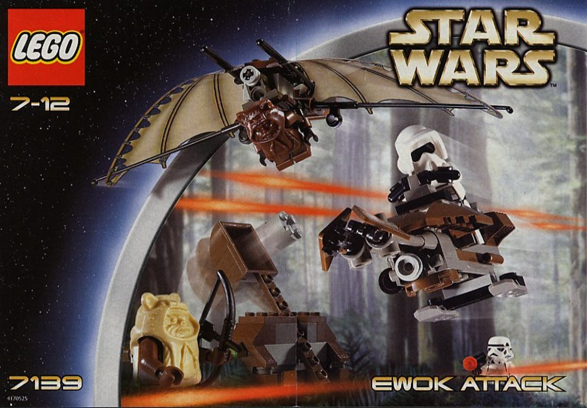 LEGO Star Wars Ewok Attack 7139 Box