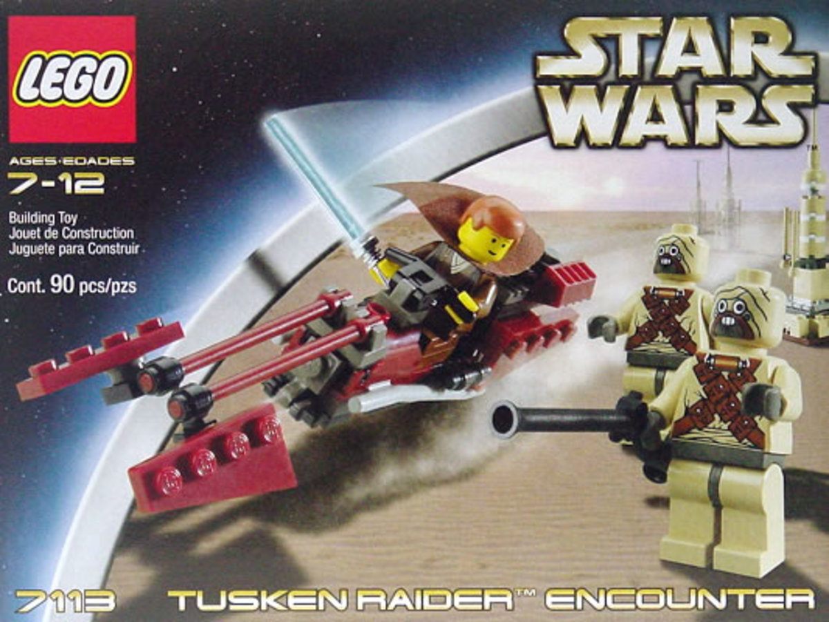 LEGO Star Wars Tusken Raider Encounter 7113 Box