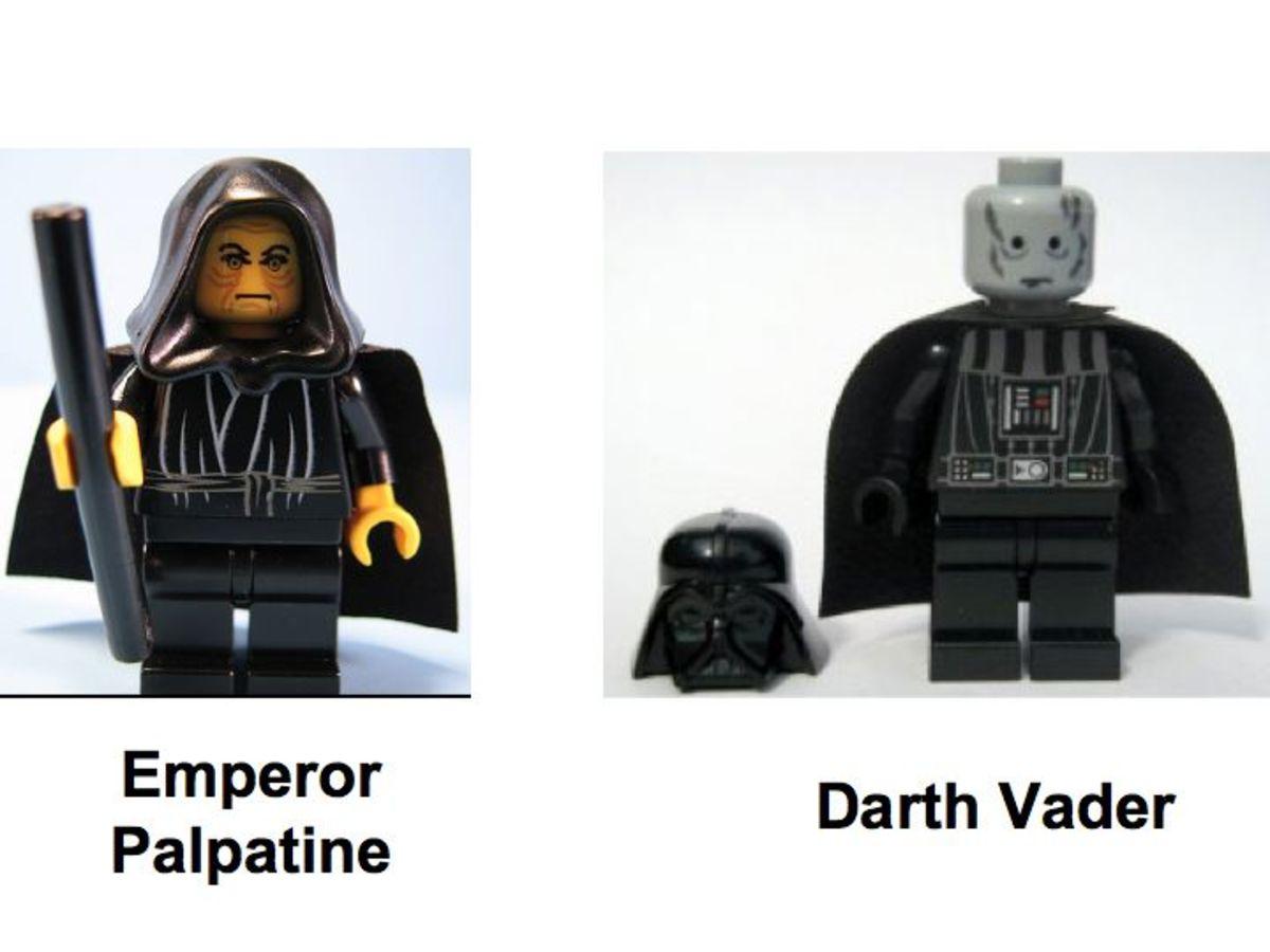 LEGO Star Wars Final Duel 1 7200 Minifigures