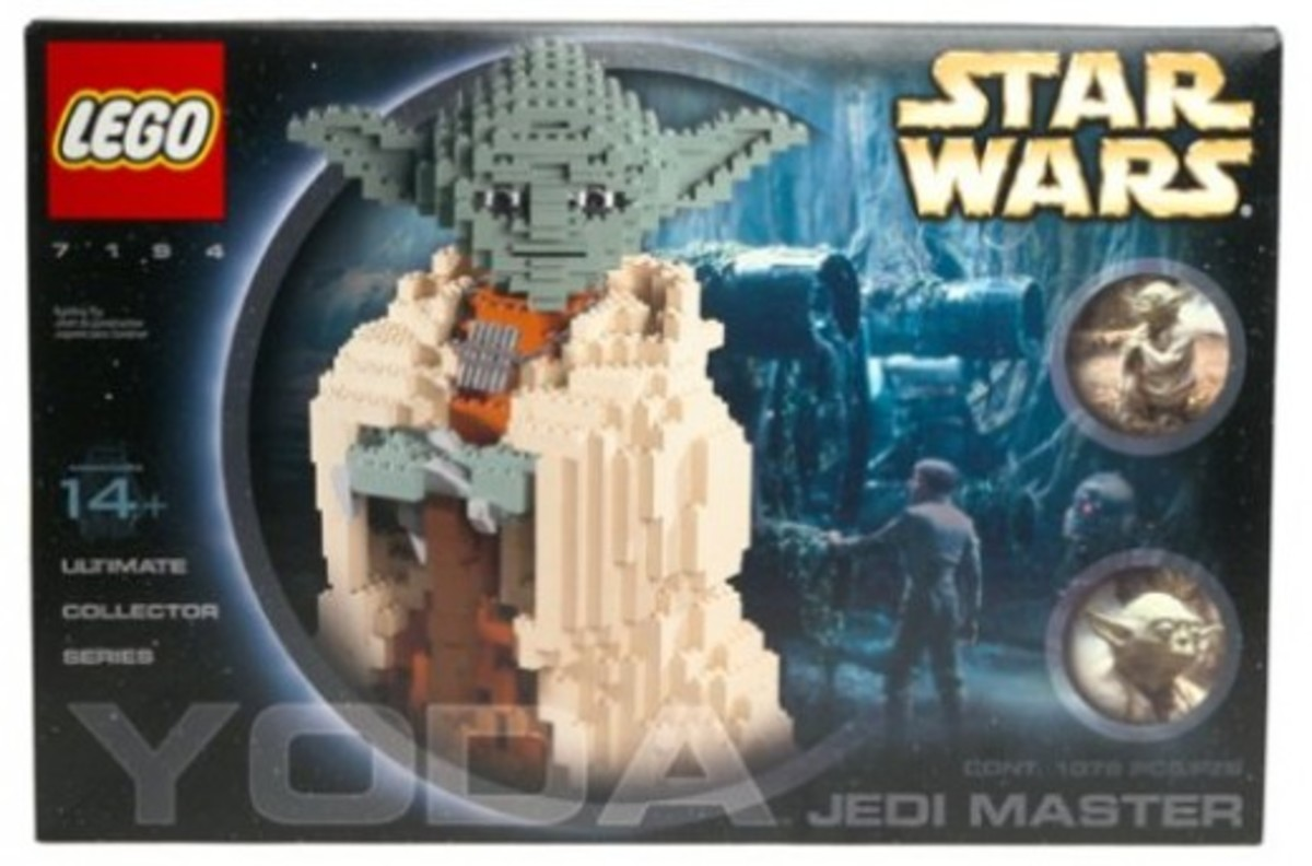 Lego Star Wars Yoda 7194 Box
