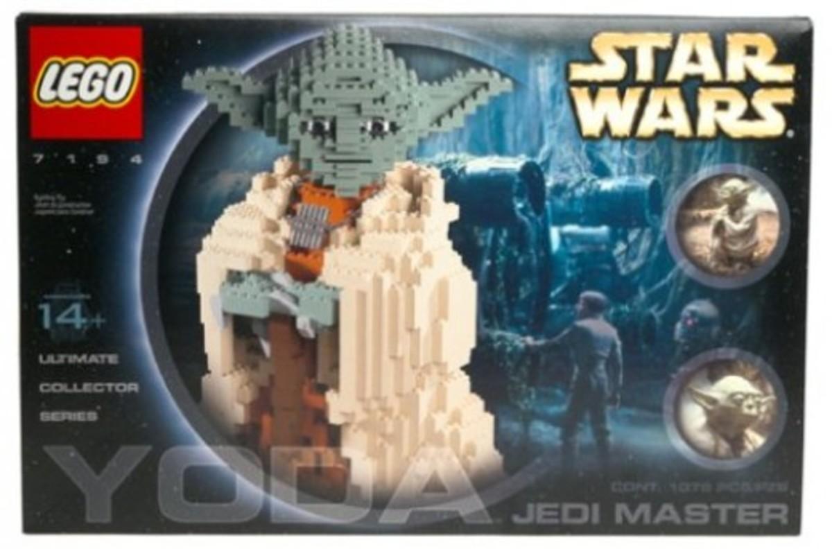 Lego Star Wars Yoda 7194 Box