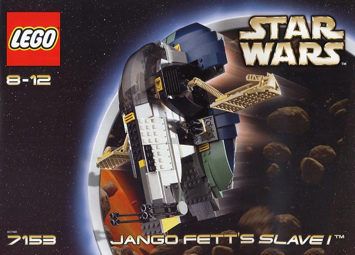 LEGO Star Wars Jango Fett Slave I 7153 Box