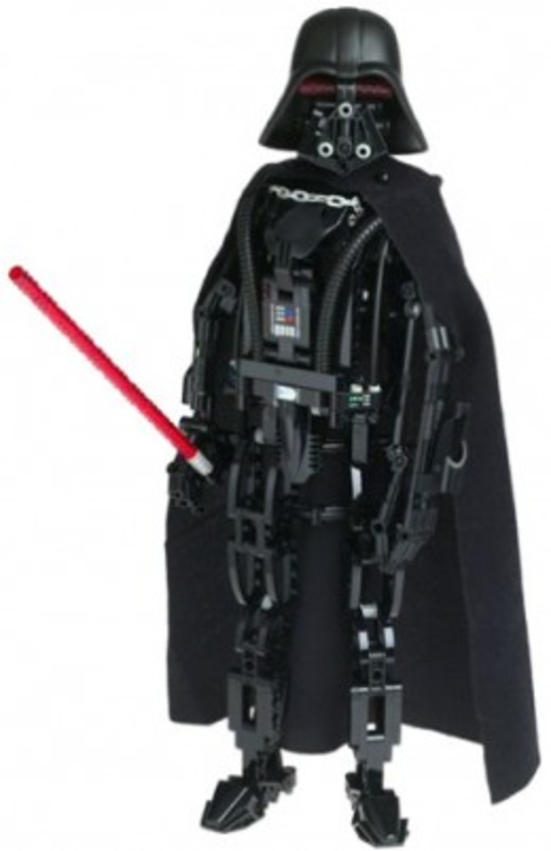 Lego Star Wars Darth Vader 8010 Assembled