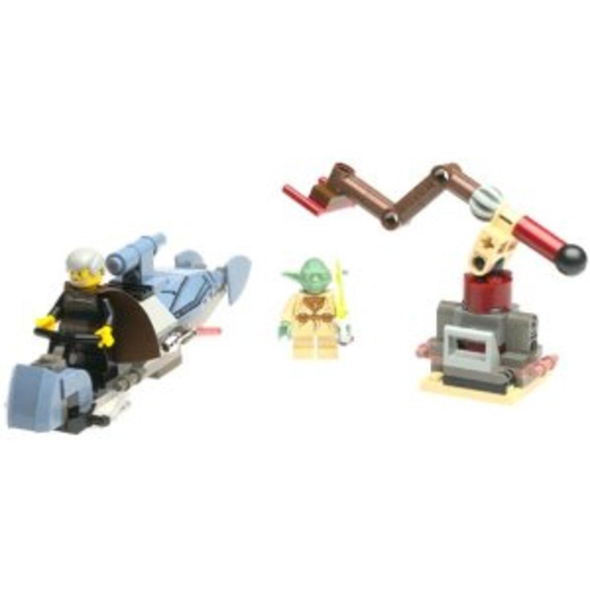 LEGO Star Wars Jedi Duel 7103 Assembled