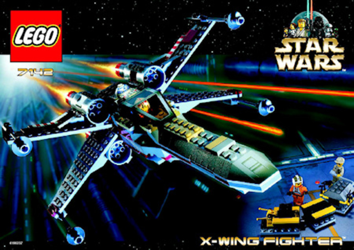 LEGO Star Wars X-Wing Fighter 7142 Box
