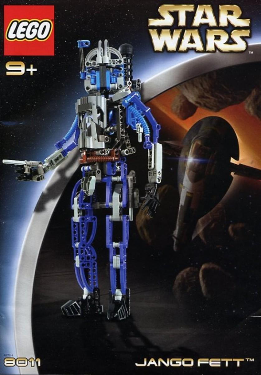 Lego Star Wars Jengo Fett 8011 Box
