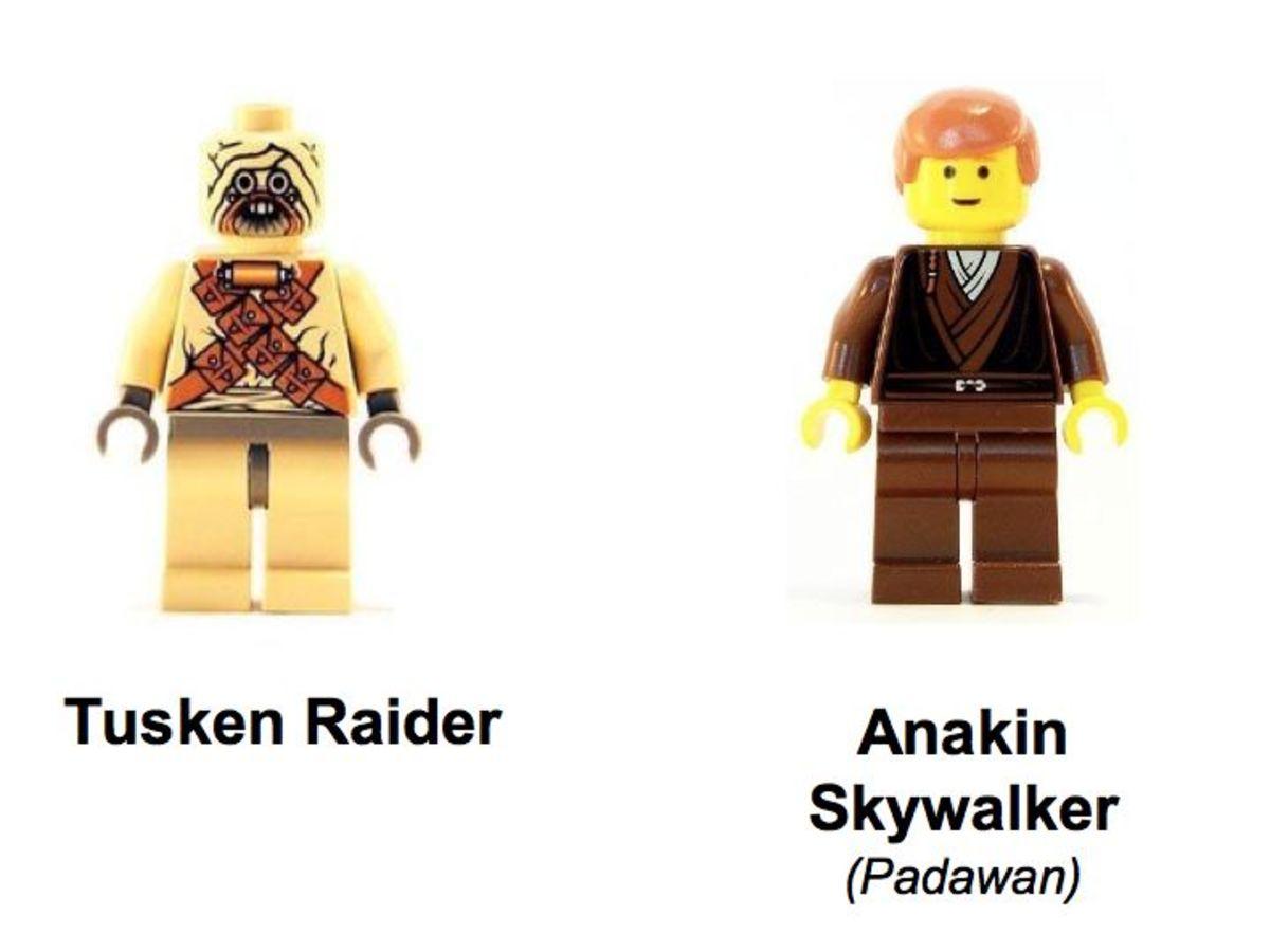 LEGO Star Wars Tusken Raider Encounter 7113 Minifigures