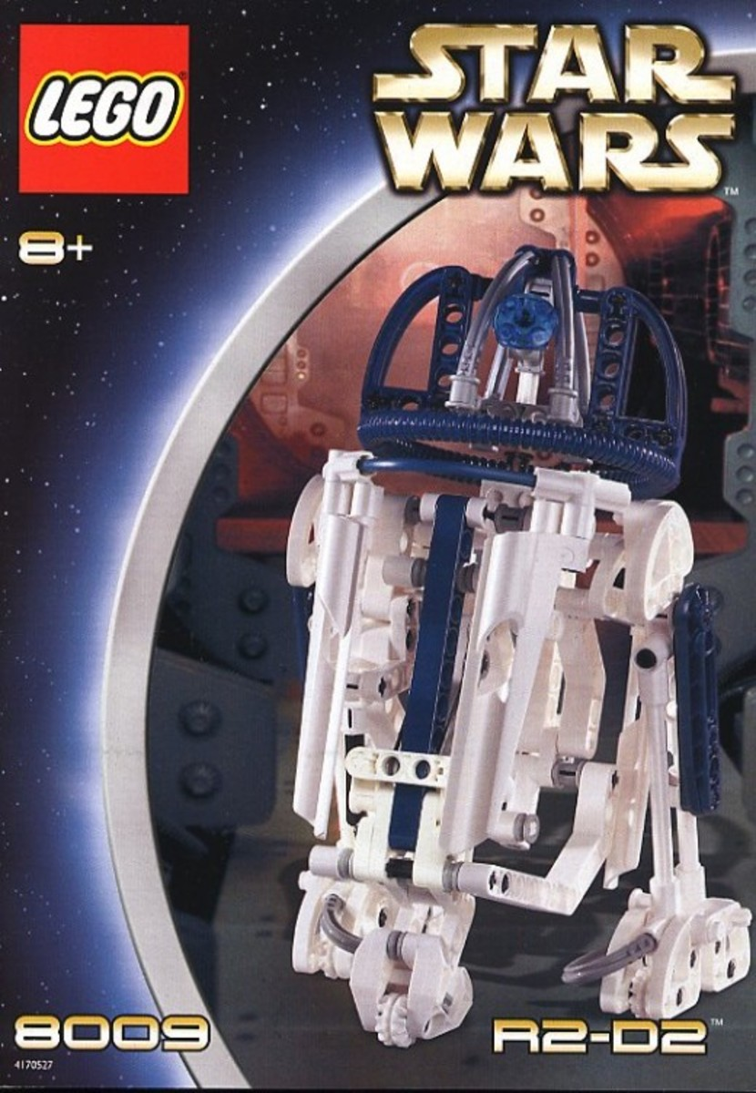 Lego Star Wars R2-D2 8009 Box
